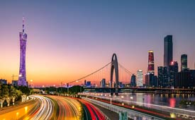 Shanghai to Guangzhou / Flight & Hotel / 4 Days